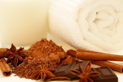 Chocolate, Cinnamon, Star Anise combine for an incredible milk bath indulgence