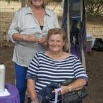 two senior women at sonoma lavender festival
