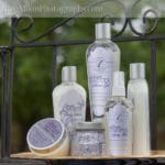 sonoma lavender spa products display