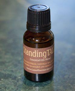 Standing Tall essential oils blend relieves dizziness and vertigo