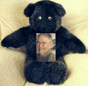 distance healing proxy bear doll with photo