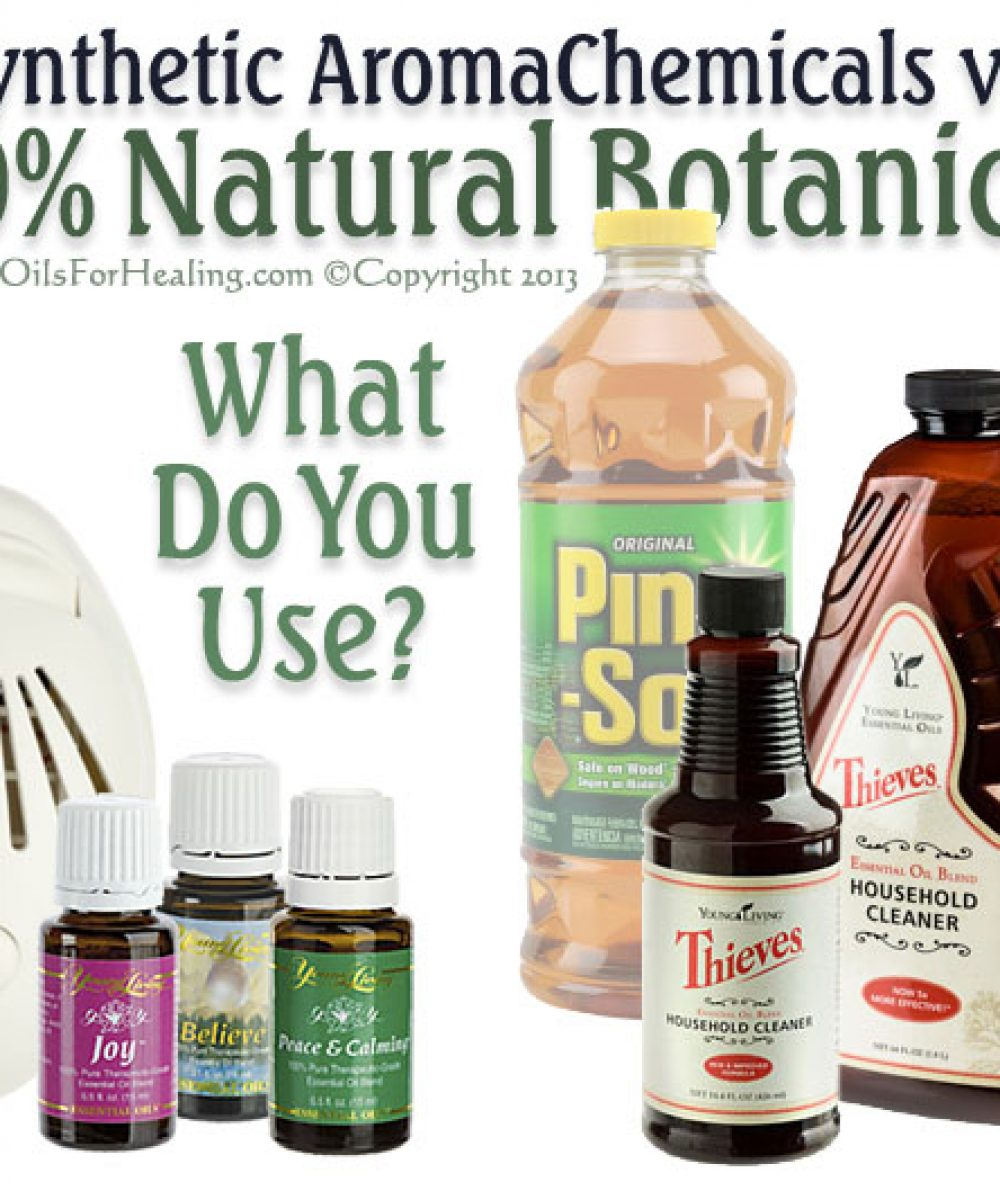 young living oils, fan diffuser, thieves cleaning product with natural botanical ingredients are safer to use. Image copyright 2013 EssentialOilsForHealing.com